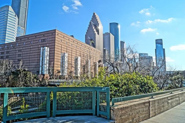 Houston downtown park.