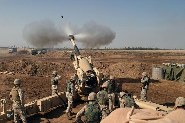 Howitzer mortar grenade.
