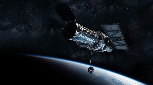Hubble telescope universe planet earth, science technology.