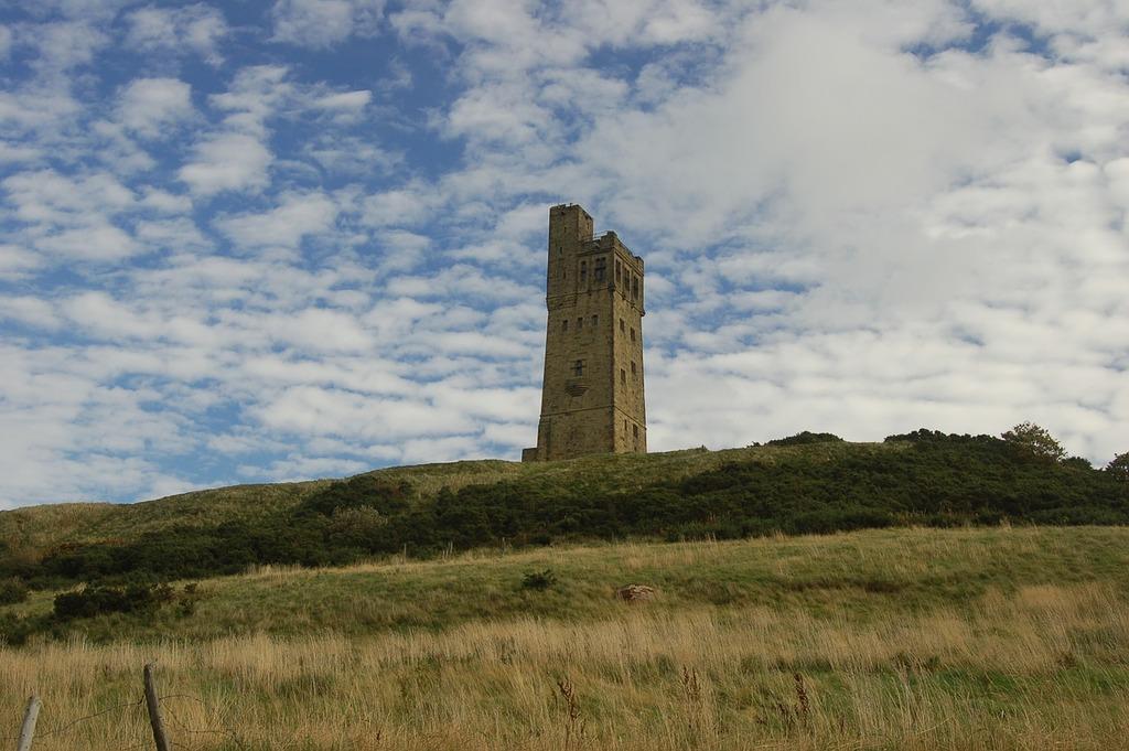 Huddersfield castle hill castle, architecture buildings.