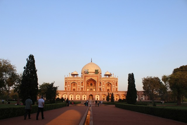 Humayun tomb monument, architecture buildings.