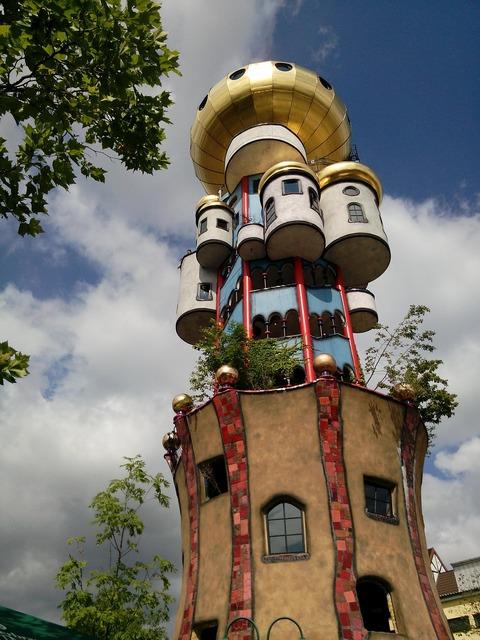 Hundred water tower bavaria art.