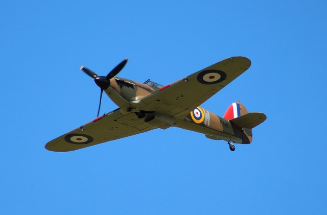Hurricaine fighter raf.