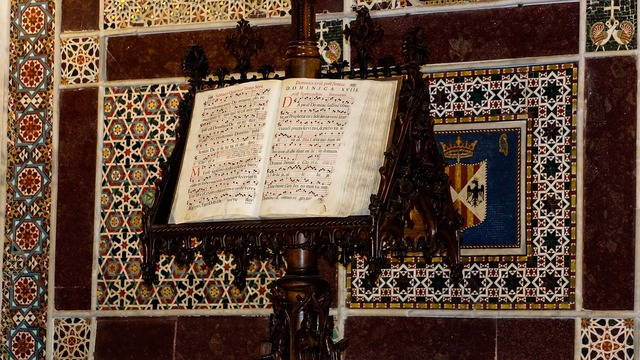 Hymn book christianity, music.