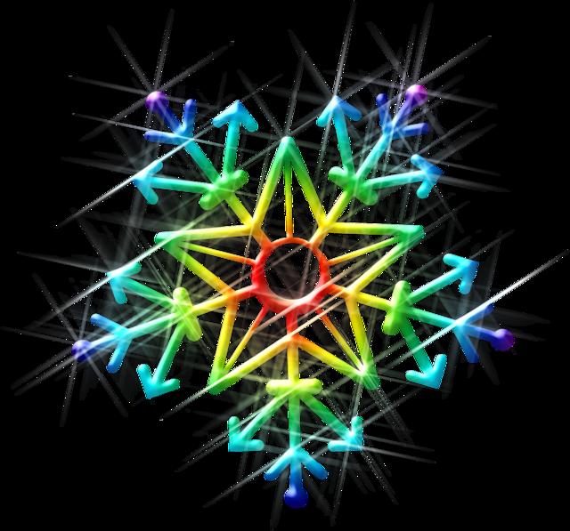 Ice crystal ice form.