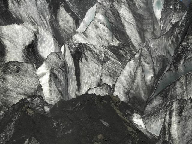 Ice glacier iceland.