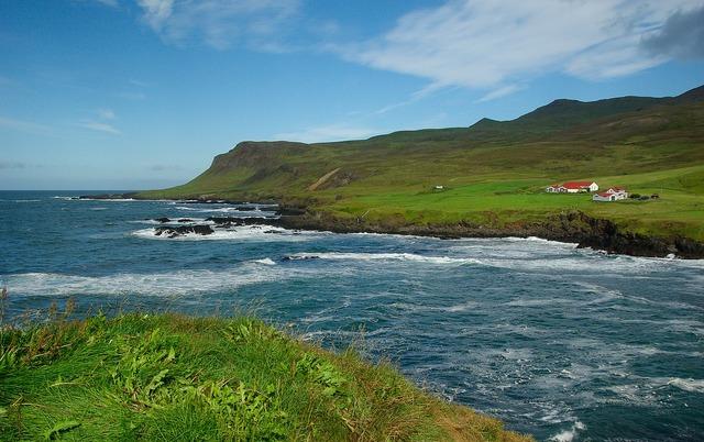 Iceland borgarfjörður fjord.