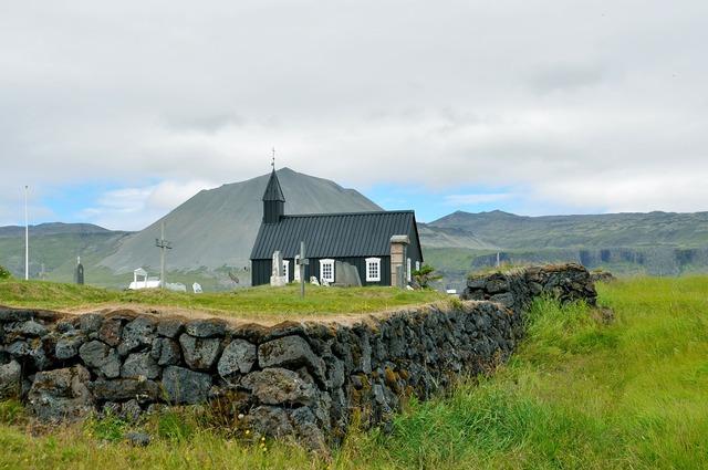 Iceland budakirkja snæfellsjökull, religion.