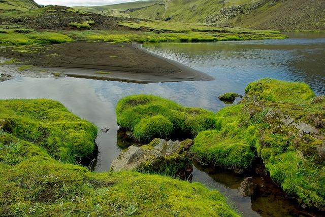 Iceland eldgjà volcano.