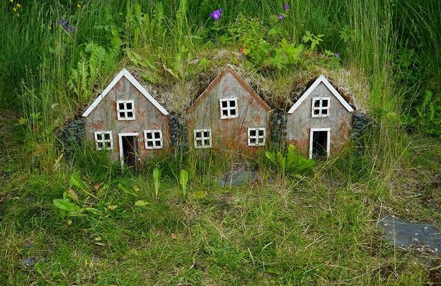 Iceland feenhaus small houses.