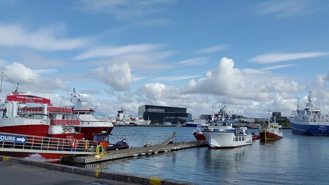 Iceland rejkavyk port.