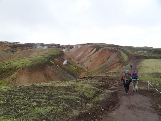 Iceland volcanoes landmannalaugar.