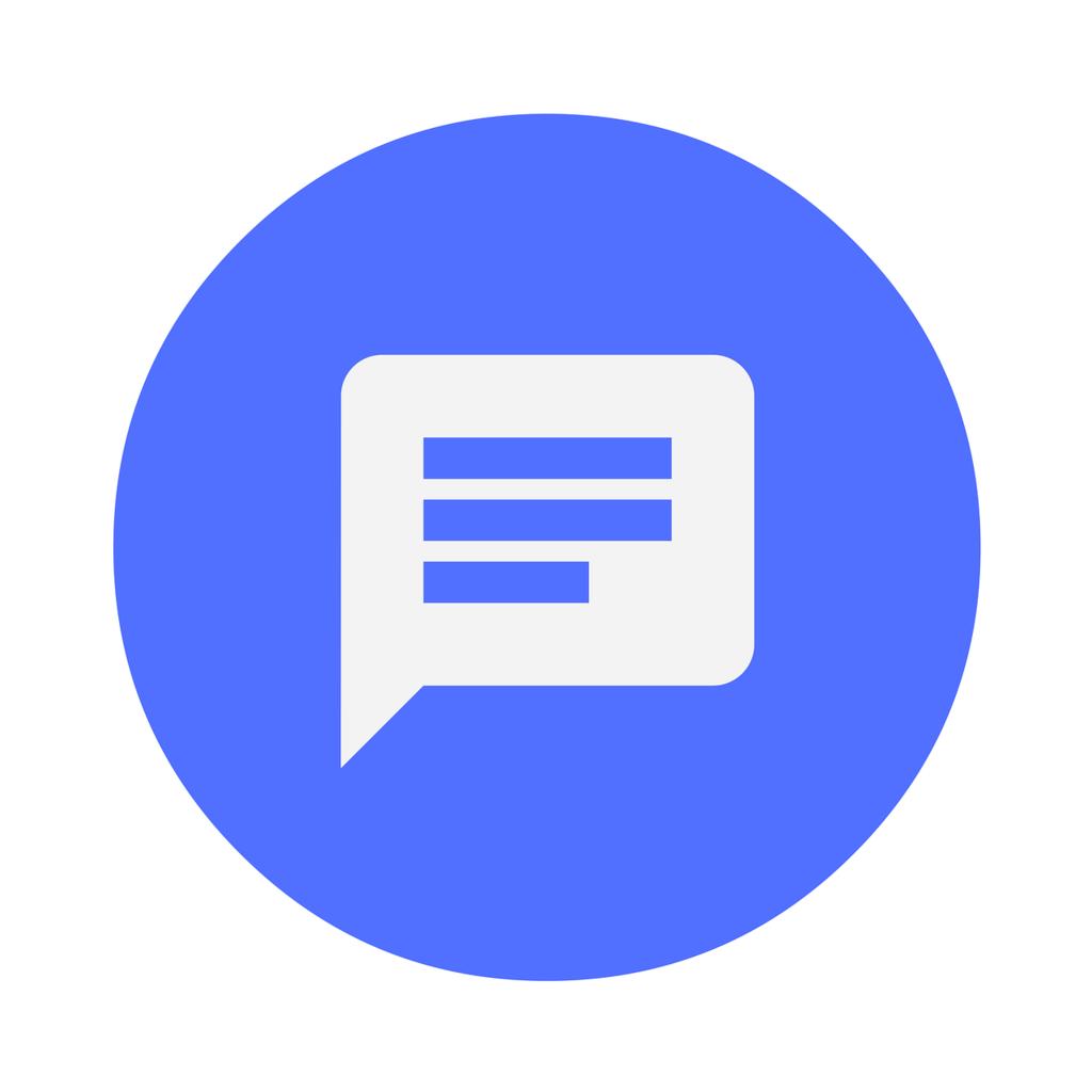 Icon feedback message, computer communication.