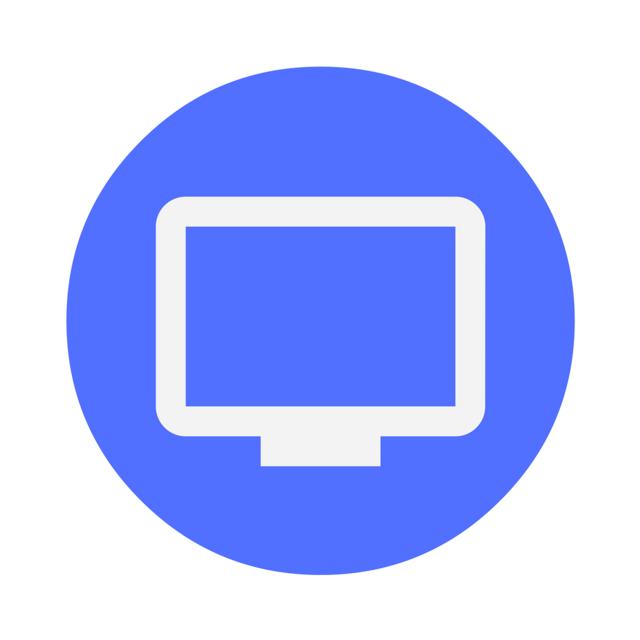 Icon monitor desktop, computer communication.