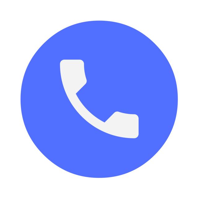 Icon phone speak, computer communication.