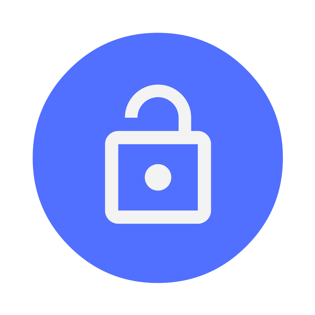 Icon security lock, computer communication.