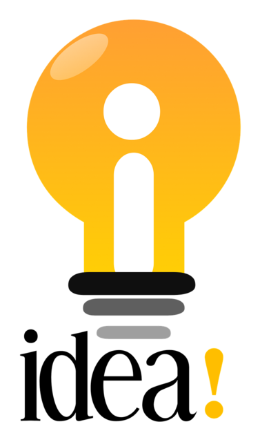 Idea globe light, business finance.