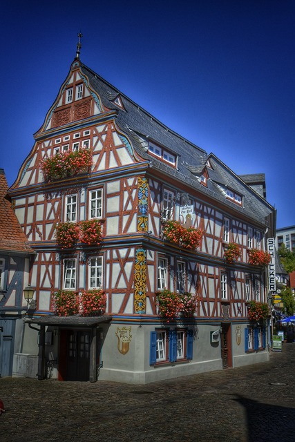 Idstein hesse germany, architecture buildings.
