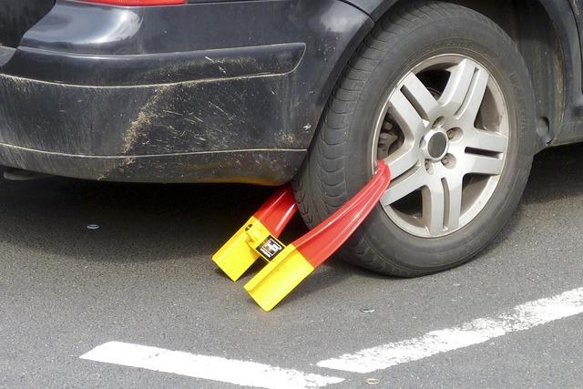 Immobilizer wheel claw car claw.