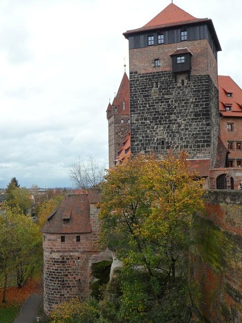 Imperial castle castle nuremberg, architecture buildings.