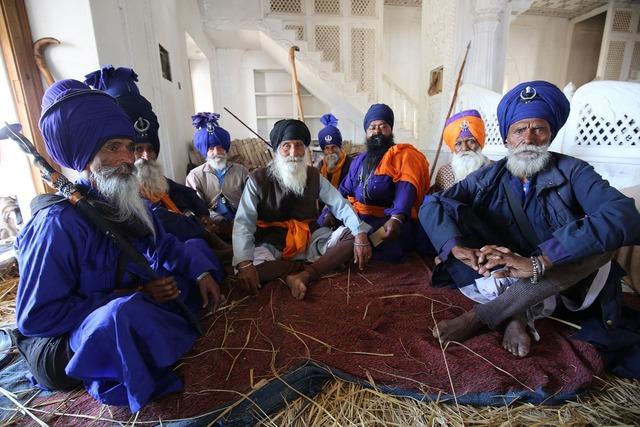 India anandpur sahib festival, people.