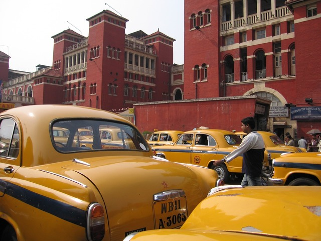 India kolkatta taxi.
