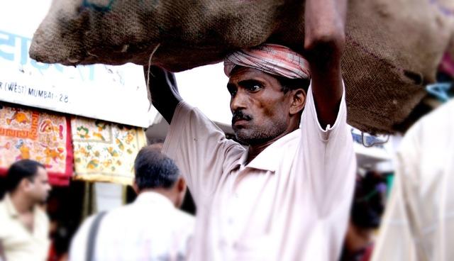 India labourer worker, industry craft.