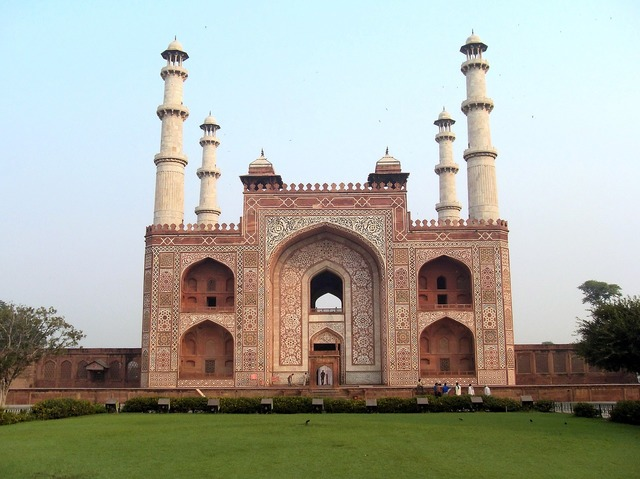 India mathura tomb, architecture buildings.