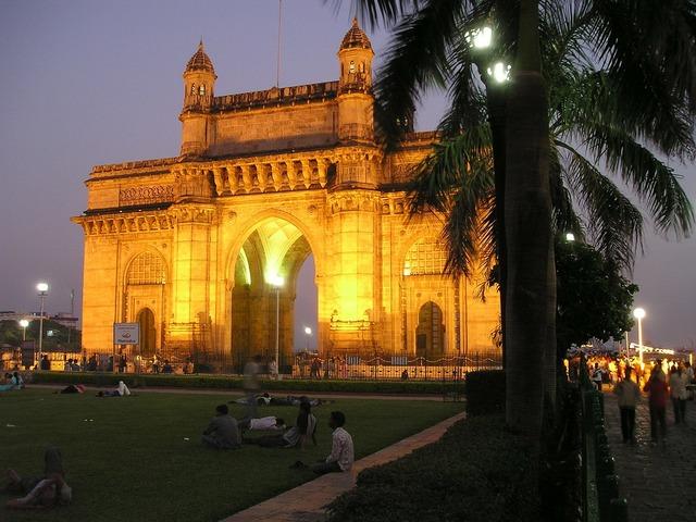 India mumbai bombay, architecture buildings.