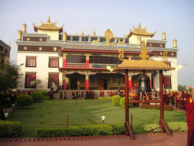 India tibetan temple, religion.