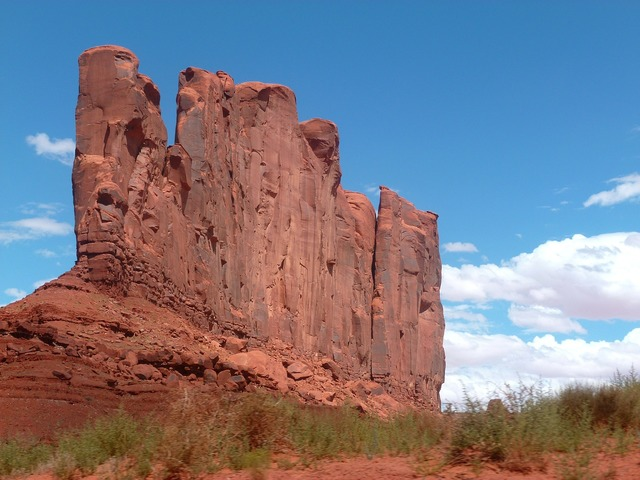 Indian monument valley, architecture buildings.