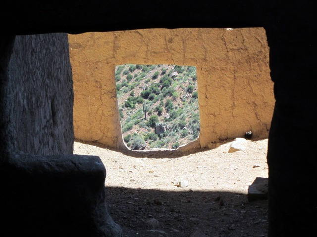 Indian ruins native american indian ruins upper ruins tonto national monument, architecture buildings.