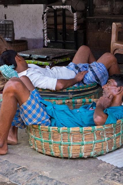 Indians sleep nap.