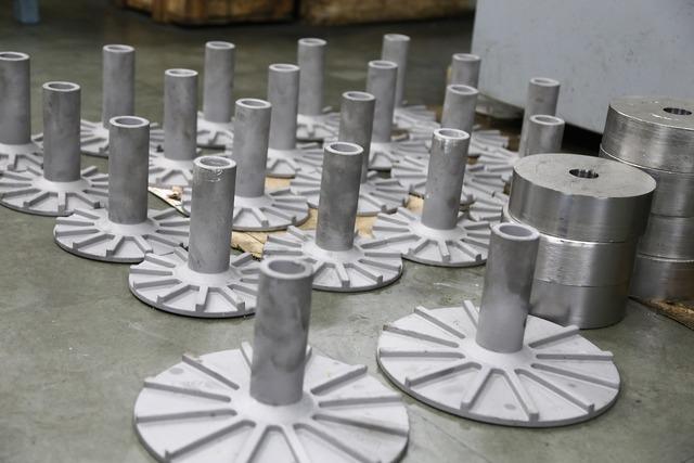 Industrial pumps industry, industry craft.