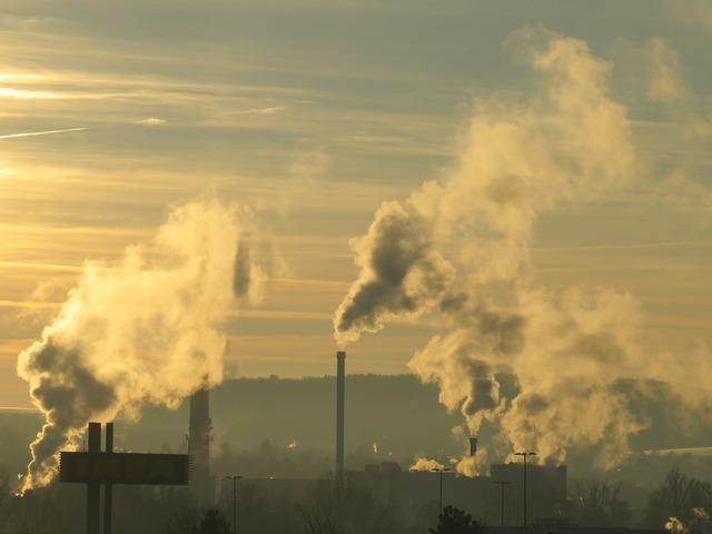 Industry smoke chimney, industry craft.