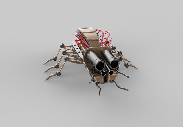 Insect robot bug, animals.