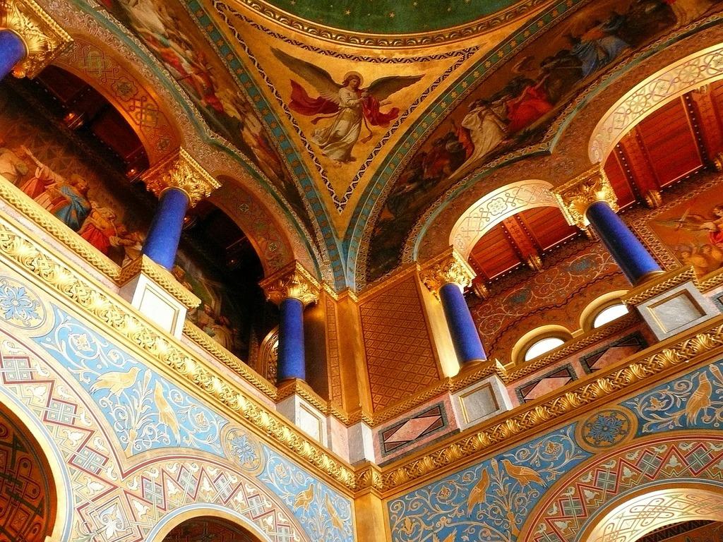 Interior castle neuschwanstein bavaria, architecture buildings.