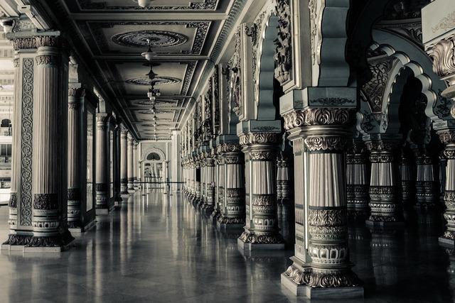 Interior columns architecture, architecture buildings.