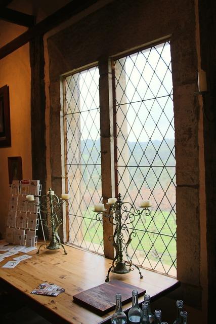 Interior windows desk, architecture buildings.