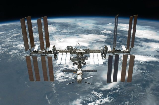 International space station iss space travel, science technology.