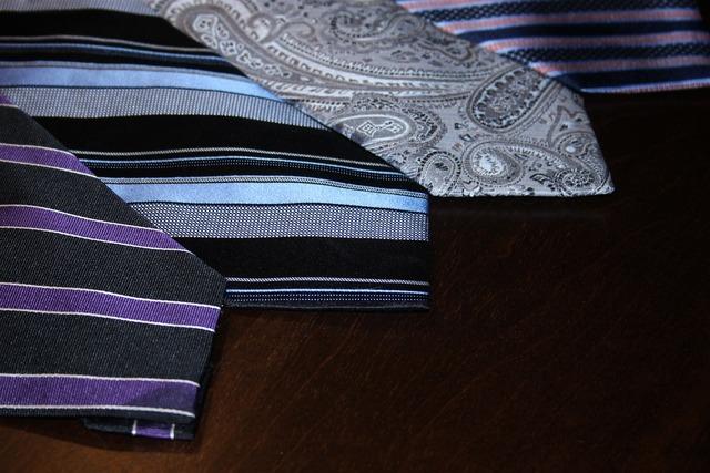 Interview business tie, business finance.