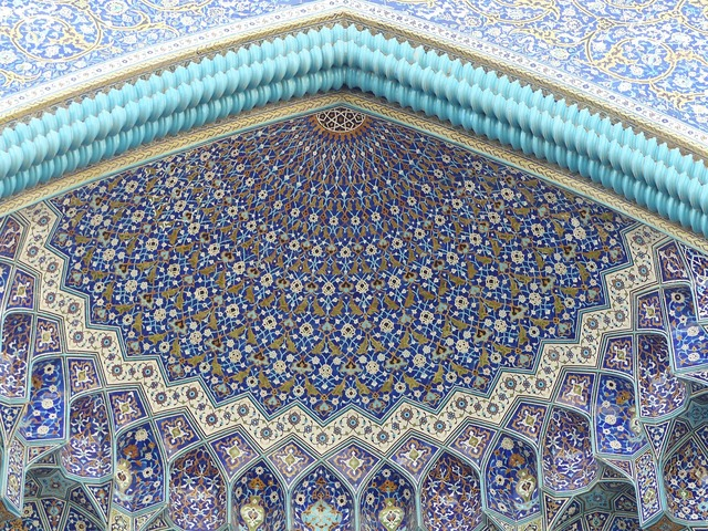 Iran isfahan places of interest, places monuments.