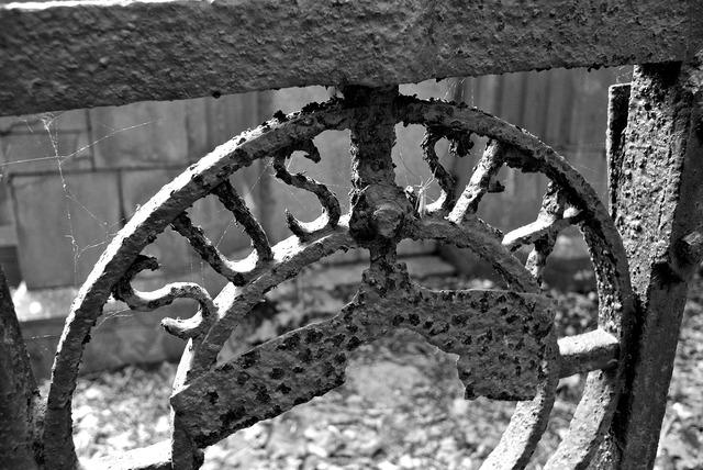 Iron rust metal, backgrounds textures.