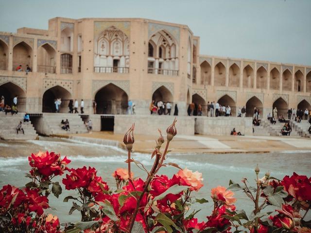 Isfahan river iran.