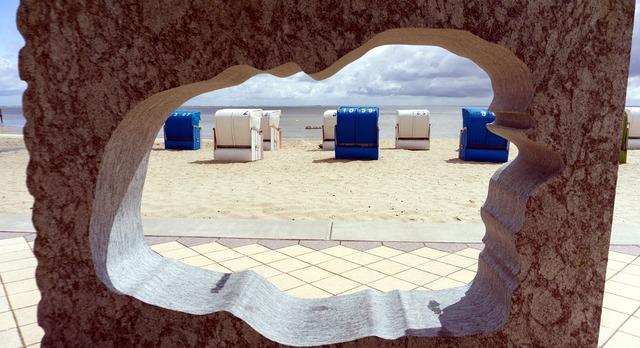 Island föhr beach north sea, travel vacation.