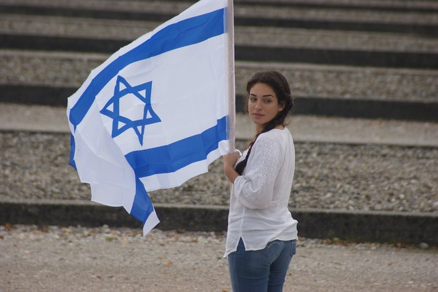 Israel dachau memorial service.