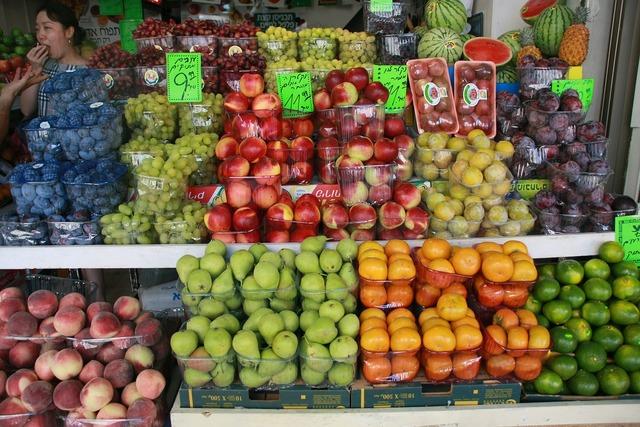 Israel tel aviv fruit, food drink.