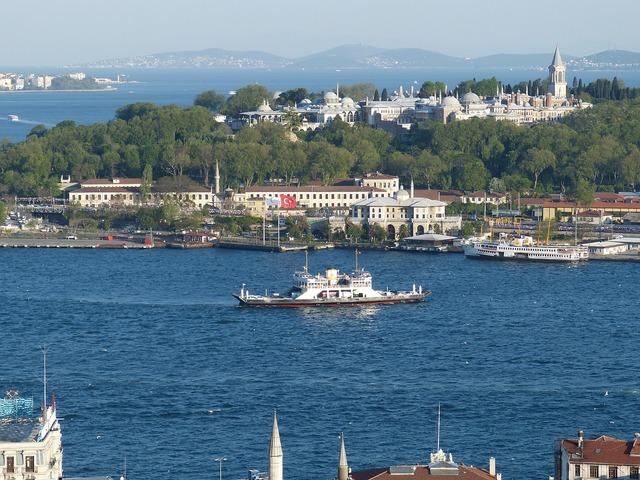 Istanbul turkey bosphorus.