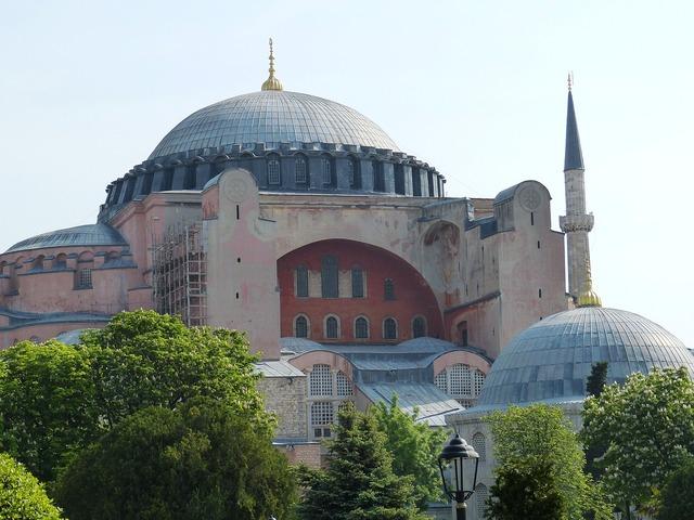 Istanbul turkey hagia sophia, religion.