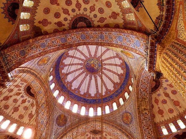 Istanbul turkey mosque.